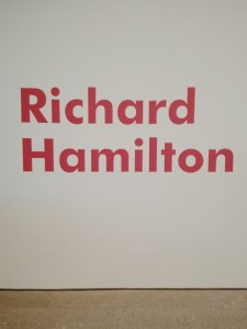 Richard Hamilton en Madrid