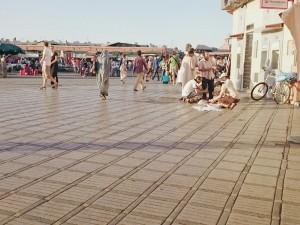 Plaza Yamma El Fna en Marrakech