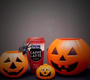 Kaiku Caffè Latte en Halloween