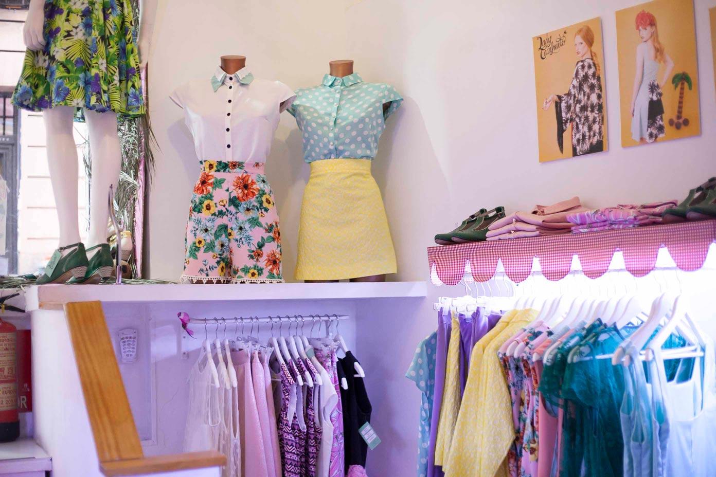 Lady Cacahuete ¿Y si nos divertimos con la moda española y la ropa vintage?