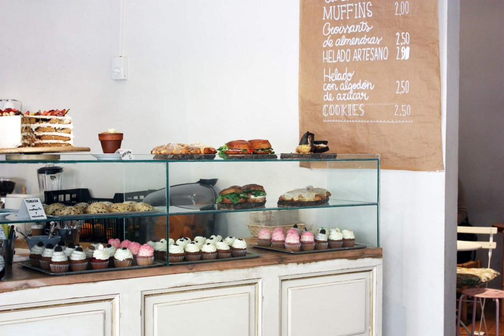 Kaiku Caffè LAtte sitios para merendar en Barcelona