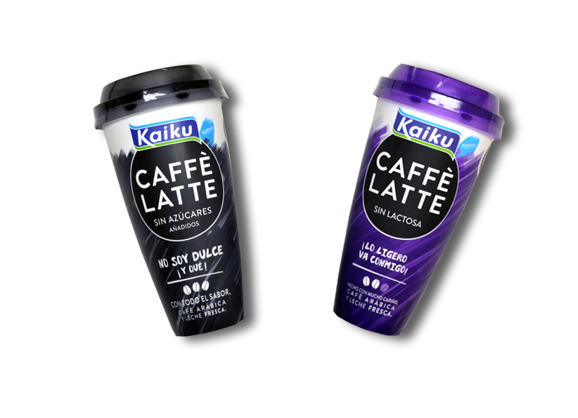 Kaiku Caffè Latte Sin Azúcares Añadidos y Kaiku Caffè Latte Sin Lactosa: ¿has probado nuestros nuevos sabores?