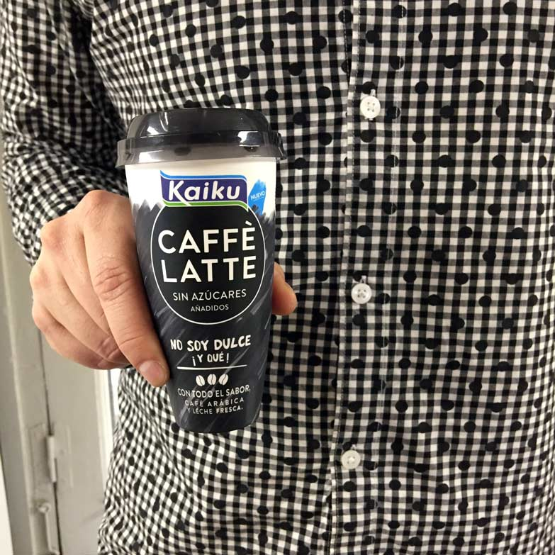 Kaiku Caffè Latte Sin Azúcar