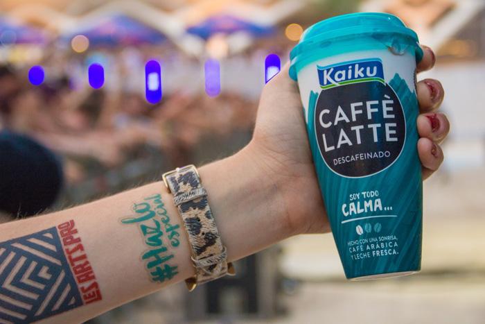 #HazloEspecial en el Festival de Les Arts: los mejores momentos con Kaiku Caffè Latte