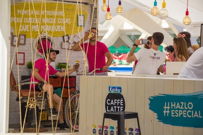 Festival de Les Arts Kaiku Caffè Latte