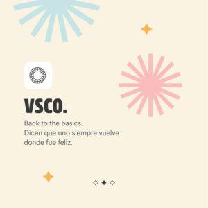 Mejores apps para editar fotos - VSCO