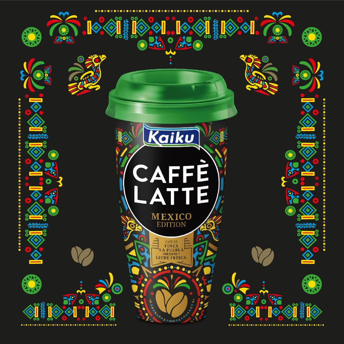 Café mexicano en la familia de Kaiku Caffè Latte :)