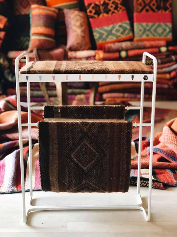 Cojines étnicos y decoración artesanal Madrid