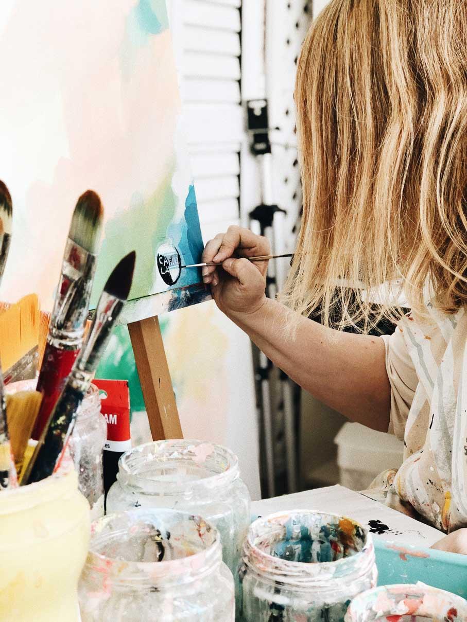1de1: Entrevista a Elena Calonje, una top entre los pintores españoles actuales