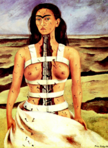 La columna rota, obra de Frida Kahlo