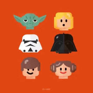 Del Hambre Star Wars Lego