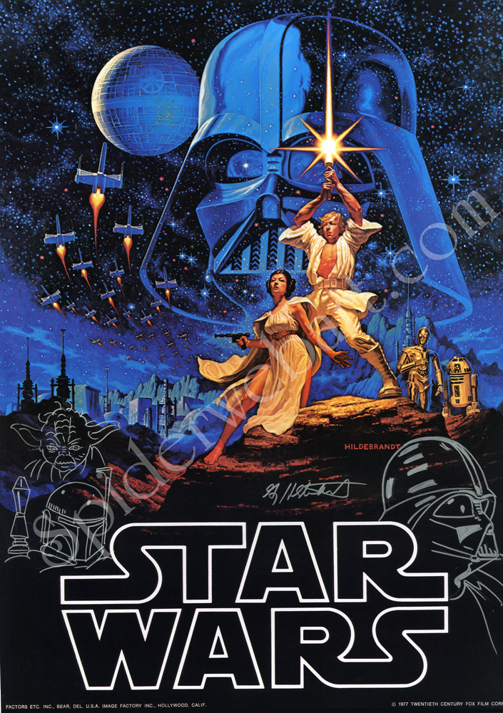 Poster Star Wars Art-Hildebrandt-brothers-Spiderwebart