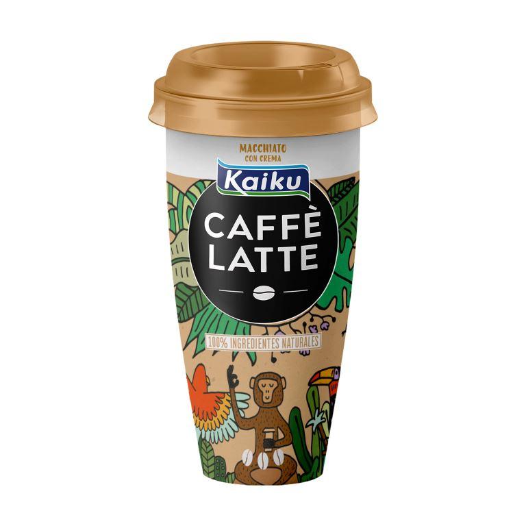 kaiku caffe latte macchiato nuevo diseño concurso