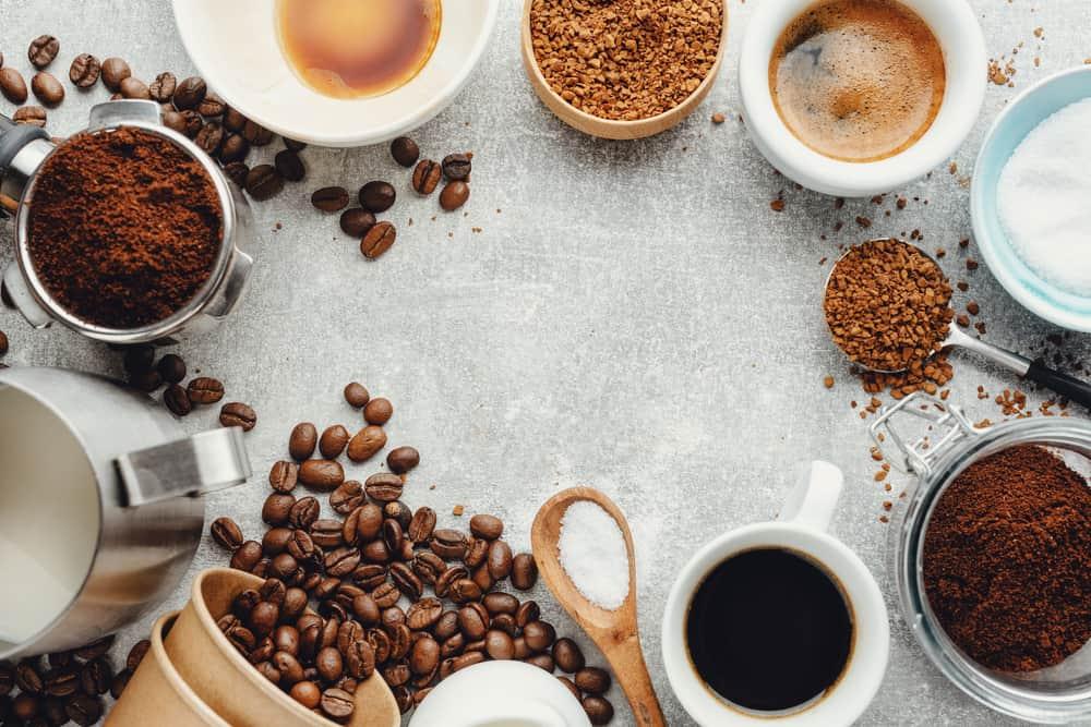 tipos de café en españa