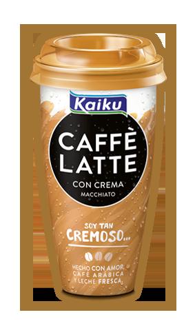 Café Macchiato, el café cremoso de Kaiku Caffé Latte