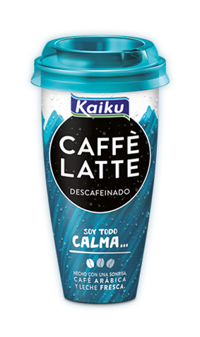 Kaiku Caffè Latte Descafeinado, café sin cafeína