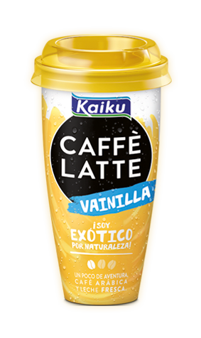 Kaiku Caffè Latte Vainilla: café sabor vainilla